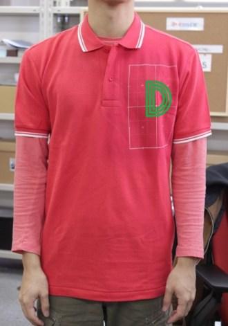 オリジナルポロシャツ着用例
